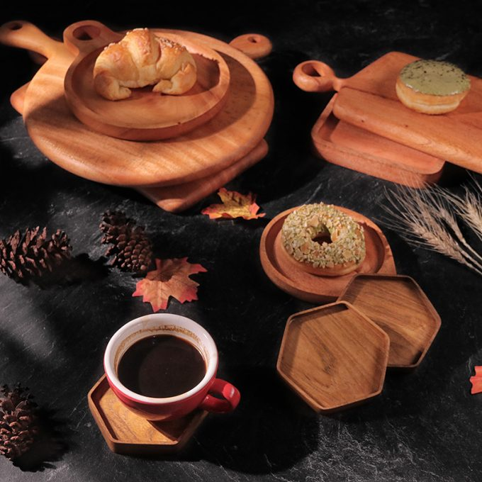 Hexa Coffee Tray Kayu Jati Kayukama Editorial 1