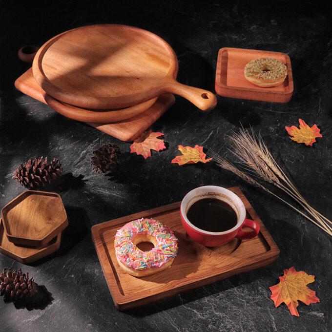 Premium Coffee Tray Kayu Jati Kayukama Editorial